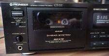 Pioneer CT-777 Tapedeck, 3 Head, Super Auto BLE, Top, Kassettendeck, Cassette