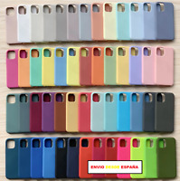 Funda Case Silicona Suave Compatible Con Iphone 11 Colores Fotos Reales Moda