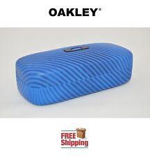 OAKLEY® SUNGLASSES EYEGLASSES SQUARE O HARD CASE PACIFIC BLUE NEW FREE SHIPPING