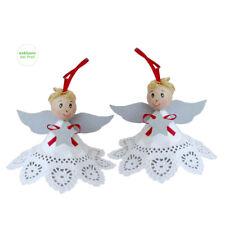 Bastelset Engel 24 Stück Anhänger Tannenbaum Weihnachten Weihnachtsbaum Deko