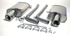 Audi A4 (B6) 2WD 1.8T Saloon 01-05 Stainless Jetex Back Boxes 44DB4R
