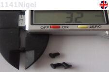 10 X caucho Hazlo tú mismo Tinta de impresora negra de sellado Tapón Stopper CISS 3.2mm