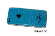 3D Tropfen Case Bumper Display Folie Klarsicht für Smartphone iPhone 5C (AP15)