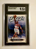 Michael Jordan 2003 Upper Deck MVP #190 Silver Short Print SGC 9.5
