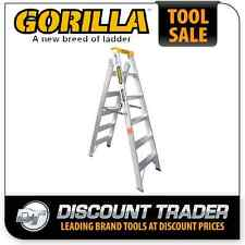 Gorilla 1.8-3.2m Industrial Aluminium Dual Purpose Double Sided Ladder - DM006-I