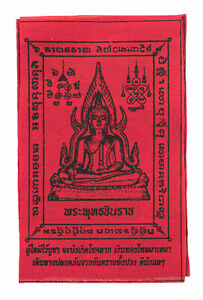 Yantra Yant Phra Chinnarat Budda Muay Thai Thailandia IN Tessuto Protezione 2155
