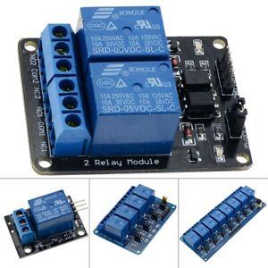 5V 1/2/4/8 Kanal Relais Board Modul für Arduino Raspberry Pi ARM AVR DSP PIC