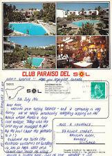 1991 CLUB PARAISO DEL SOL TENERIFE SPAIN COLOUR POSTCARD