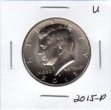 2015-P Kennedy Half Dollar, 1-coin  Uncirculated