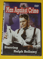 Man Against Crime - Ralph Bellamy 3 TV Episodes NEW! Nice See!