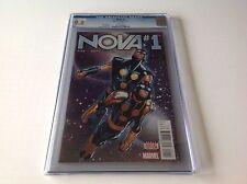 NOVA 1 CGC 9.8 WHITE PAGES HUMBERTO RAMOS COVER MARVEL COMICS