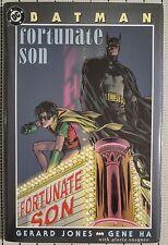 BATMAN Fortunate Son HARDCOVER U.S.A. Original