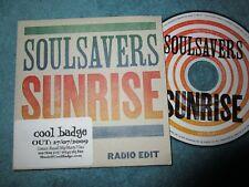 Soulsavers – Sunrise (Radio Edit)   V2 Records VVR710890P UK Promo CD Single