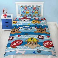 Paw Patrol Peek Kids Childrens Bedding Duvet Cover Pillowcase Set Single Bed