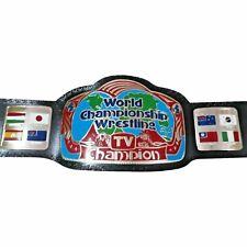 WCW TV CHAMPION Replica Belt Adult Size