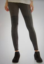 cc68269ee7d02 Legging XS (0-2) Ponte Legging FADED GLORY Rayon Mix Charcoal Heather Store