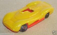 RARE IMPALA HO 1/87 MADE MEXICO MATRA SIMCA 650 jaune fond rouge