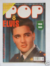 ►► ELVIS PRESLEY COVER OLD POLISH MAGAZINE SELLES 27