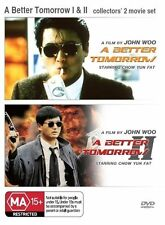 A Better Tomorow 1 & 2 (ENGLISH LANGUAGE ONLY) * NEW DVD * John Woo Chow Yun Fat