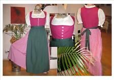 Hammerschmid Dirndl Gr. 42 pink/weiß/grün  NEU  TOP