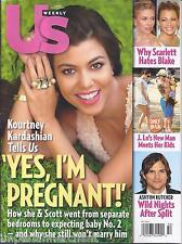 Us Weekly magazine Kourtney Kardashian Scarlett Johansson Blake Lively Lopez