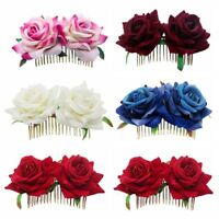 Hairpin Bridesmaid Hair Jewelry Bridal Flower Hair Comb Wedding Accessories