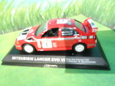 MITSUBISHI LANCER EVO VI RALLY NEW ZEALAND 1999