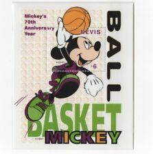 Foglietto Mickey Mouse 1998 - Basketball - Nevis - DISNEY - MNH ** [DIS06]