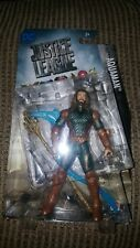 "DC Justice League Aquaman 6"" Action Figure w/ Trident & Water Lash FGG67"