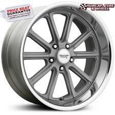 """AMERICAN RACING VN507 Vintage Rodder Silver 18""""x8 Wheel Rim (One Wheel)"""