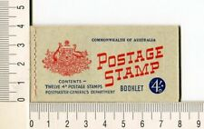 41124a) AUSTRALIA 1959 MNH** QEII 4d (x12) n.313Eb  Booklet SG B34 -Imperf L & R