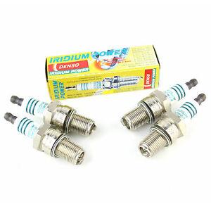 4x Volvo 140 144 2.0 S Genuine Denso Iridium Power Spark Plugs