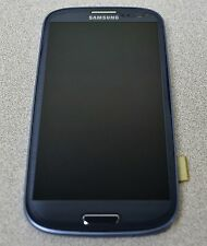 Blue Digitizer + LCD Assembly + Frame For Samsung Galaxy S3 Sprint - SPH-L710