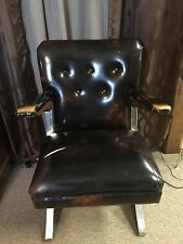 MCM Rok-a-chair American Craftsmen Spring Cantilever Lounger Rocker Chair Vtg