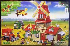 BanBao 8568 Wheat Farm House Windmill Building Block Set 860pcs