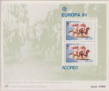 Europa CEPT 1981 Folklore  Azoren Blok 2 - Postfris MNH - cat waarde € 4
