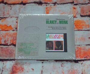 Art Blakey/Thelonious Monk - Jazz Messengers With... CD Album Deluxe Ed NEW 1999