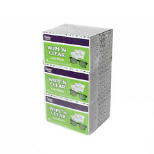 Flents Lens Wipes 3 X 75 Individually Wrapped Glasses Cleaning Cleaner Wipe