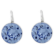 Swarovski Bella Pierced Earrings - Light Sapphire Crystal