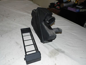 OEM 1993 Mercedes Benz 600 Air Intake Filter Box Assembly w/Slide Out Tray, case
