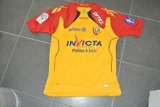 Maillot porté RC LENS  demont  saison 2010 taille L