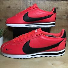 Nike Classic Cortez Premium Red Orbit Men's Running Shoes 807480-601 Size 12 New