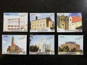 Jordan 2018 MNH Christian Churches in Amman Stamps