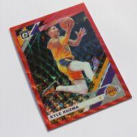 Kyle Kuzma Panini Optic Donruss Red Prizm 2019-2020 #80 LA Lakers NBA Card