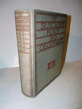 Arte Contemporanea Museo Stoccarda Stuttgarter Kunst der Gegenwart 1913 RARO
