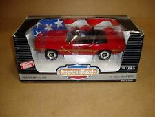 1/18th scale 1969 Ford Shelby GT-500 Mustang Boss Ertl American Muscle red