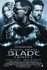 "BLADE TRINITY - Movie Poster Flyer - 11X17"" FINAL - Original - SNIPES - REYNOLDS"