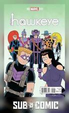 ALL NEW HAWKEYE #2 HEMBECK VARIANT (MARVEL 2015 1st Print) COMIC