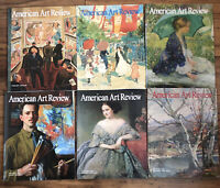 Lot of 6 2008 Issues American Art Review Magazines Feb April Aug June Oct Dec