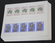 1976 Monaco; 100 mal Block Kunsthandwerk, postfrisch/MNH, ME 3000,-
